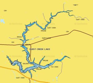 Guist creek lake butler county bassmasters for Ky fishing license